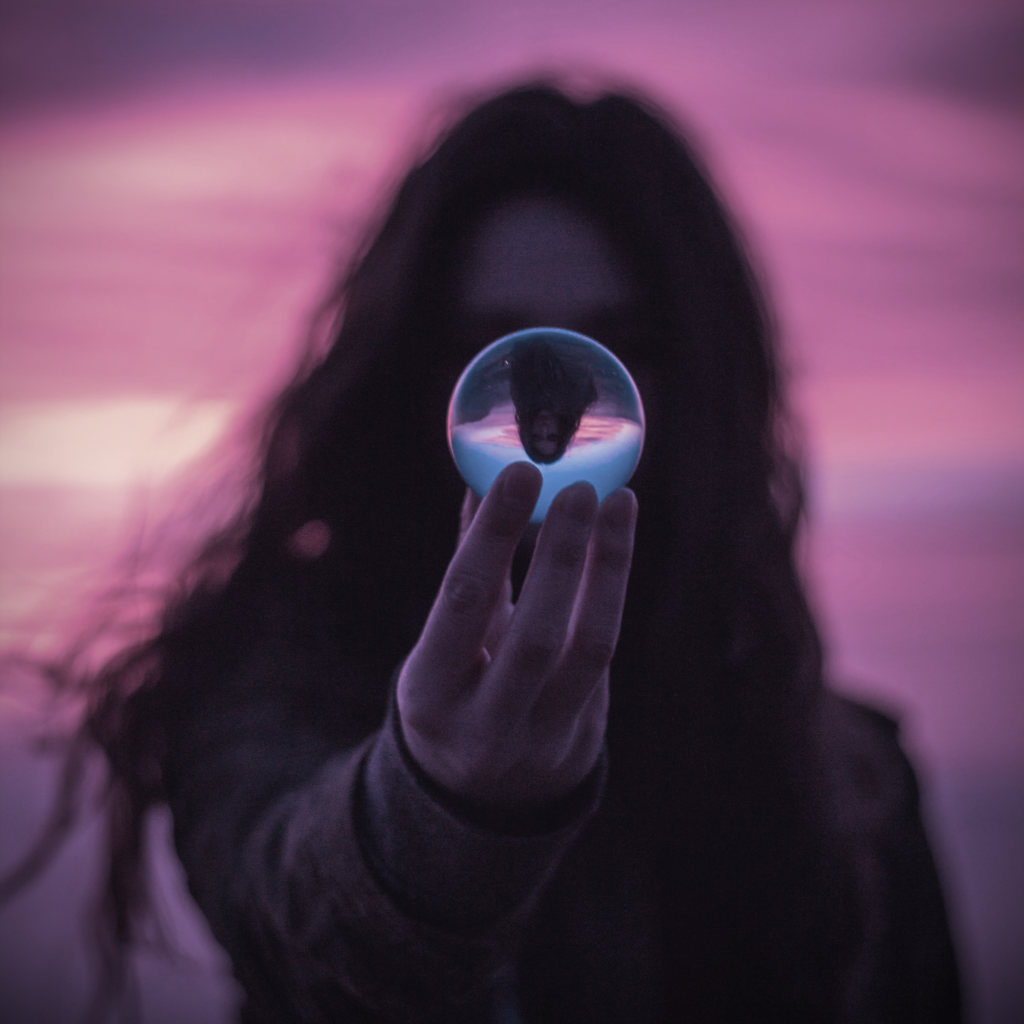 Crystal Ball Into The Future by Garidy Sanders on Unsplash