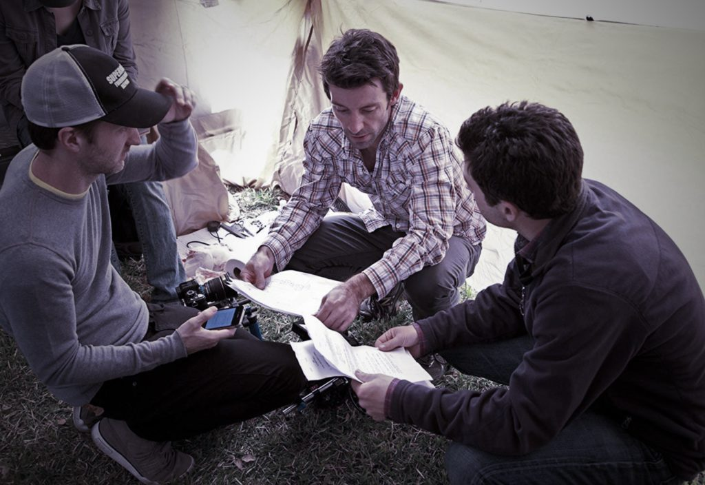 Shane Carruth on the Set of Upstream Color